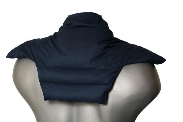 Wärme Nackenkissen dunkelblau | Komfort