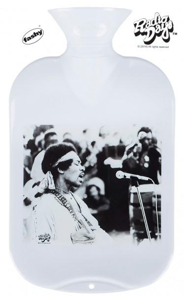 fashy Wärmflasche 2l Radio Days Hendrix weiß