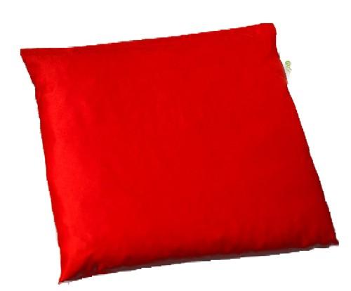 Kirschsteinsäckchen 19x19cm rot