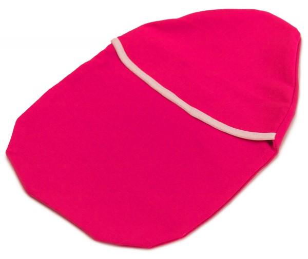 Bezug für Wärmflasche weich pink
