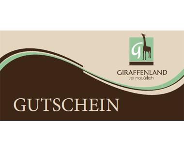 Gutschein Giraffenland per Post