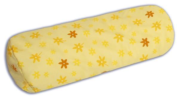 Bezug für Lagerungsrolle 55x18cm (41) Blümchen gelb