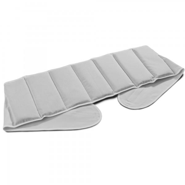 7-Kammer Kissen mit Klettverschluss, weiß