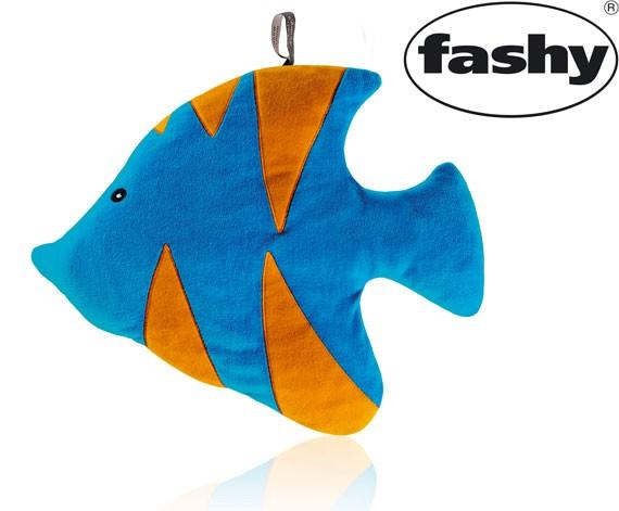 Wärmflasche 0,8l im Plüschtier Fisch 6550