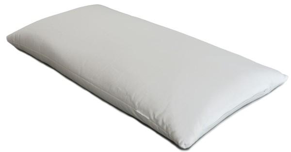 Dinkelspelzkissen 40x76cm weiß
