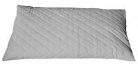 Bio Hirsekissen 40x80cm Steppware weiß