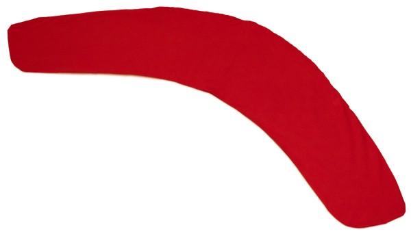 Stillkissenbezug für 180x35cm Bio-Stoff rot