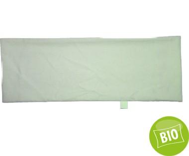 Kissenbezug BIO für 20x60cm Perkal, mit Hotelverschluss