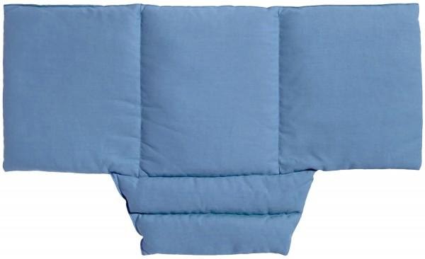 Wärme-Nackenkissen Komfort hellblau
