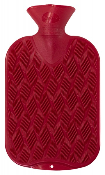 Wärmflasche rot