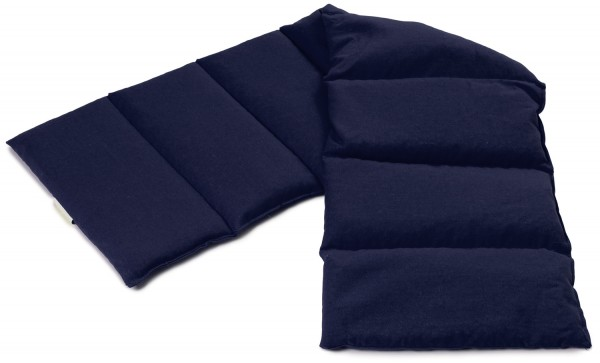 8-Kammer Wärmekissen dunkelblau