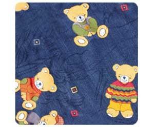 ->Bezug für das Asymmetrische - 180x43cm (54) Bären
