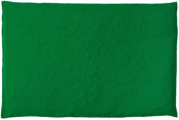 Körnerkissen 30x20cm, grün