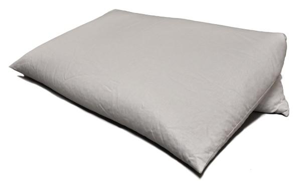 Bio Dinkelspelzkissen 80x80cm weiß