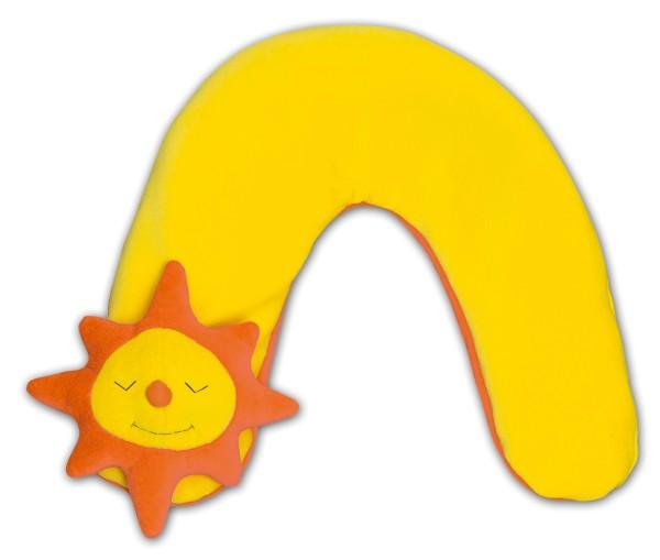 Nackenkissen Sonne klein 65x10cm