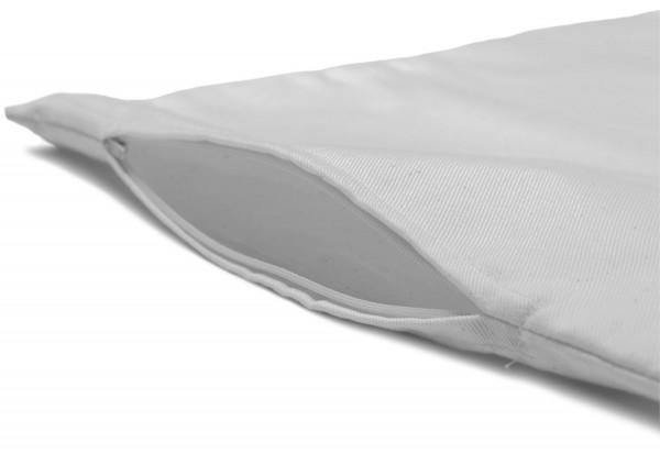 Inlett 80x40cm Köper weiß
