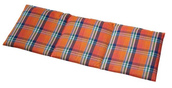 -> Rapssamenkissen 3-Kammer 50x20 Karo orange