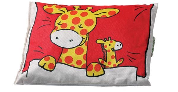 -> Kirschkernkissen Kinder 20x15 Giraffe