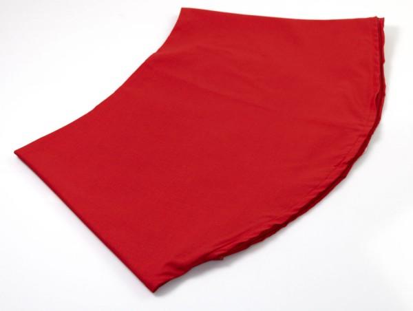 Stillkissenbezug für 190x39cm Bio-Stoff rot