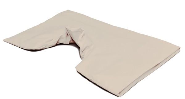 Kissenbezug für Schulter & Nackenkissen mit Kragen BIO-Perkal