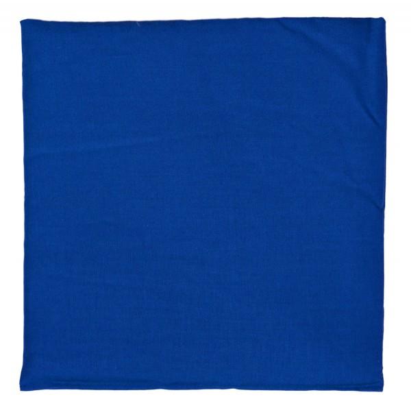 Bio Dinkel Wärmekissen blau