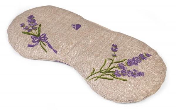 Augenkissen Lavendel und Leinsamen