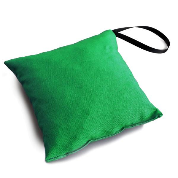 Duftkissen 12x12cm froschgrün