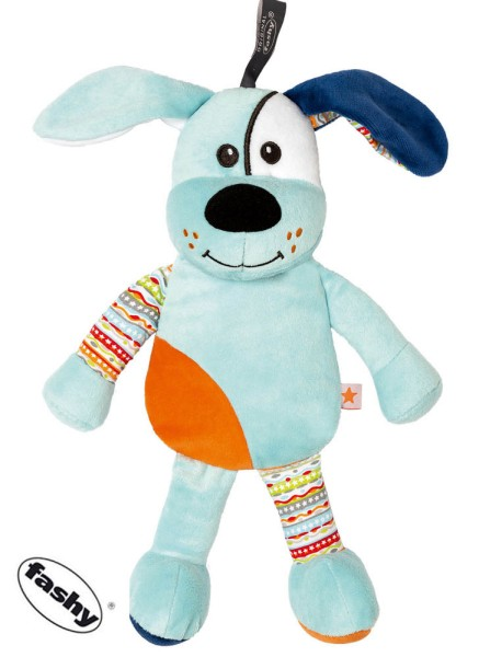 Kinder Wärmekissen Hund hellblau