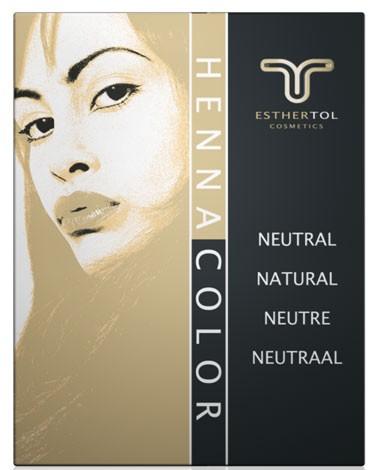 Henna Pulver Neutral 85g Haarkur ohne Farbe