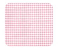 Stillkissenbezug 190x38 -51- Karo rosa