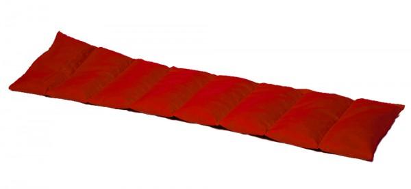 Körnerkissen 8-Kammer 75x20cm, rot