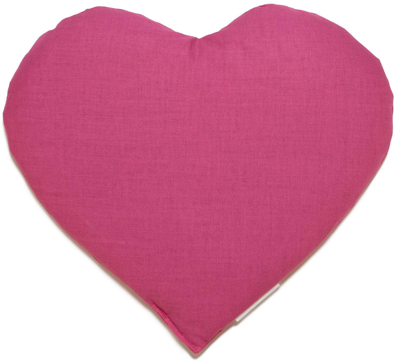Kirschkernkissen Herz Pink