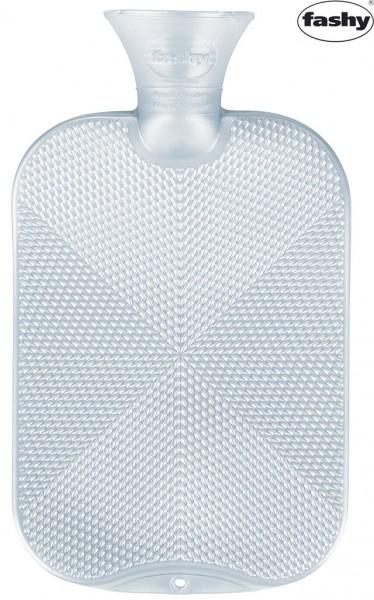 "Wärmflasche 2.0l Halblamelle 6445 Kristal Star ""Eis"""
