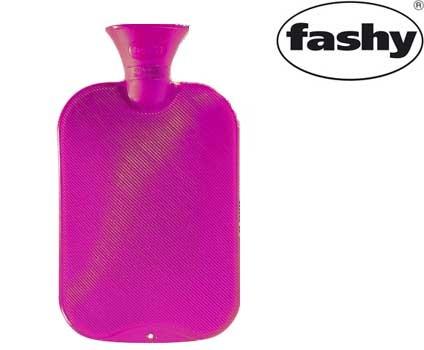 Wärmflasche 2.0l Halblamelle rosa 6442