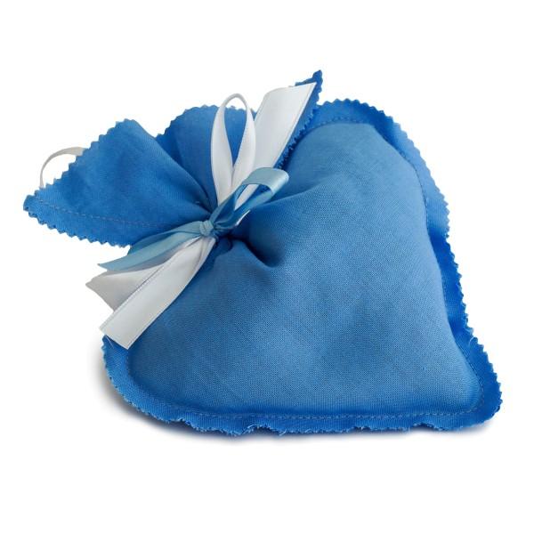 Duftkissen Herz hellblau