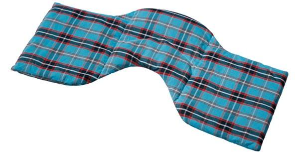 -> Schulter & Nackenkissen Körner (kbA) 50x25 blau-schwarz
