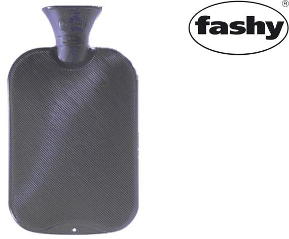 Wärmflasche 2.0l Doppellamelle grau 6460
