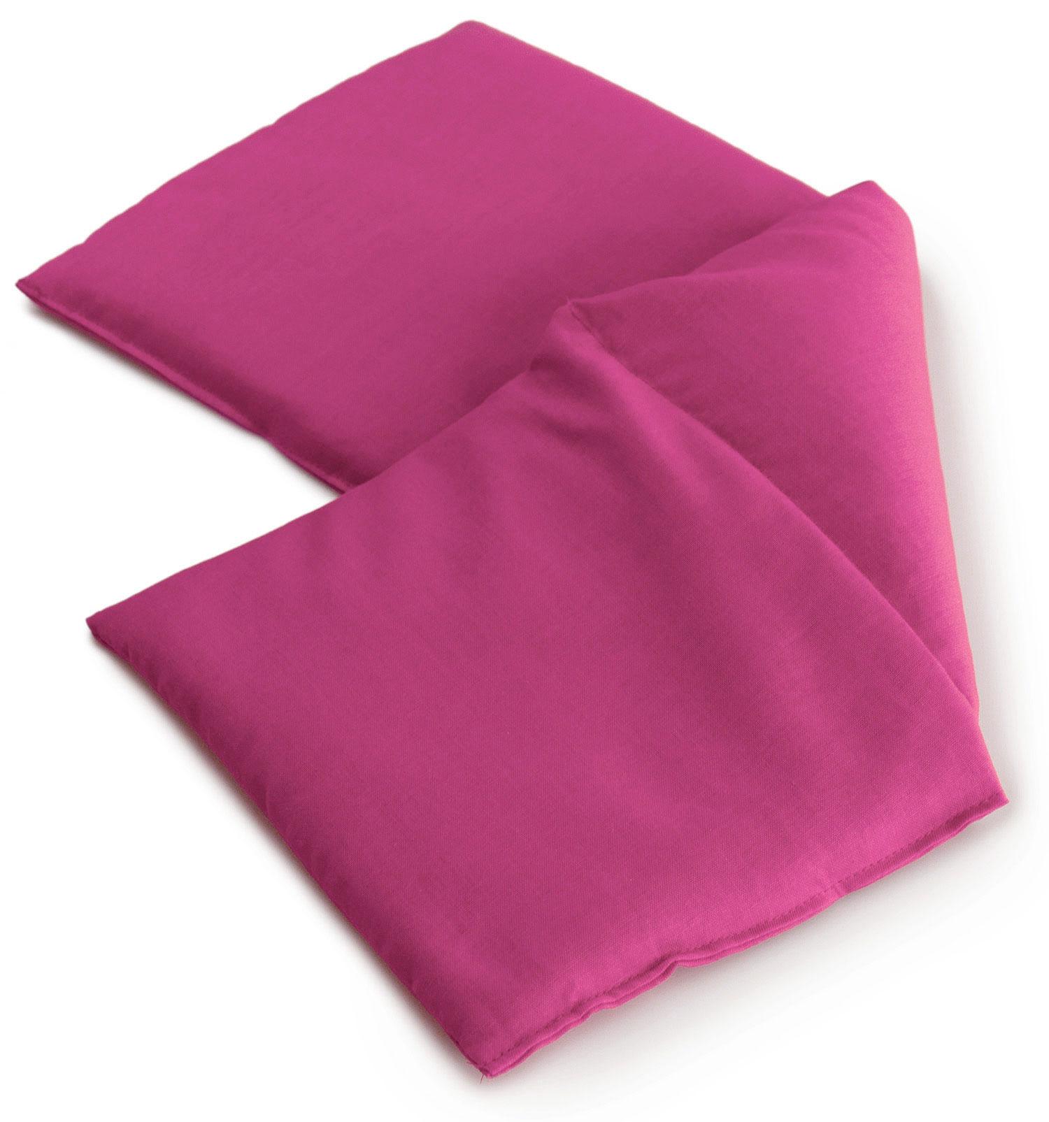 Leinsamenkissen pink