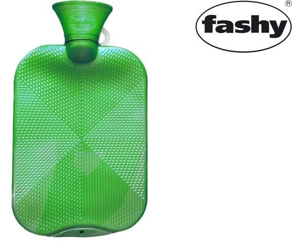 Wärmflasche 2.0l Halblamelle 6445 hellgrün