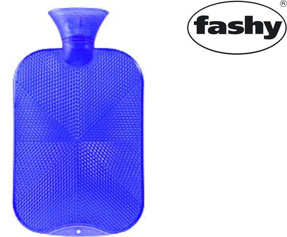 Wärmflasche 2.0l Halblamelle 6445 königsblau