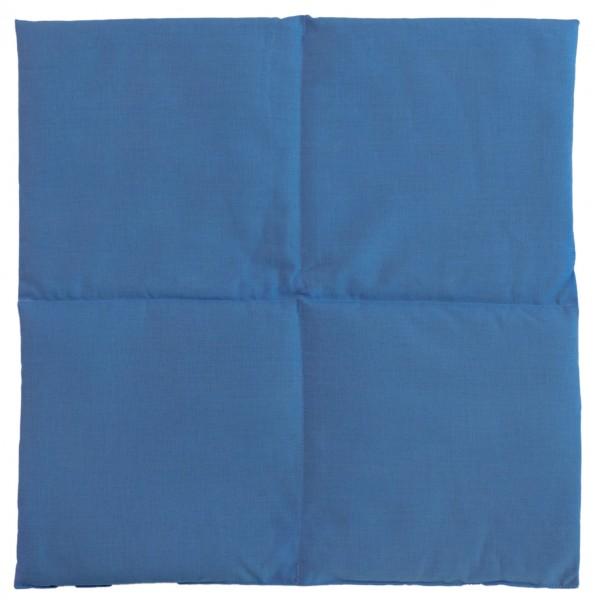 Leinsamenkissen Wärmekissen hellblau