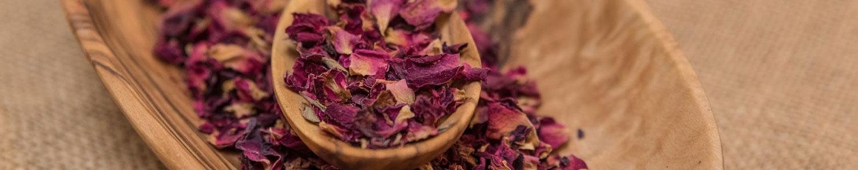 Rosenblütenkissen