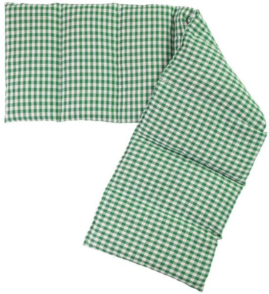 8-Kammer Wärmekissen grün-weiß